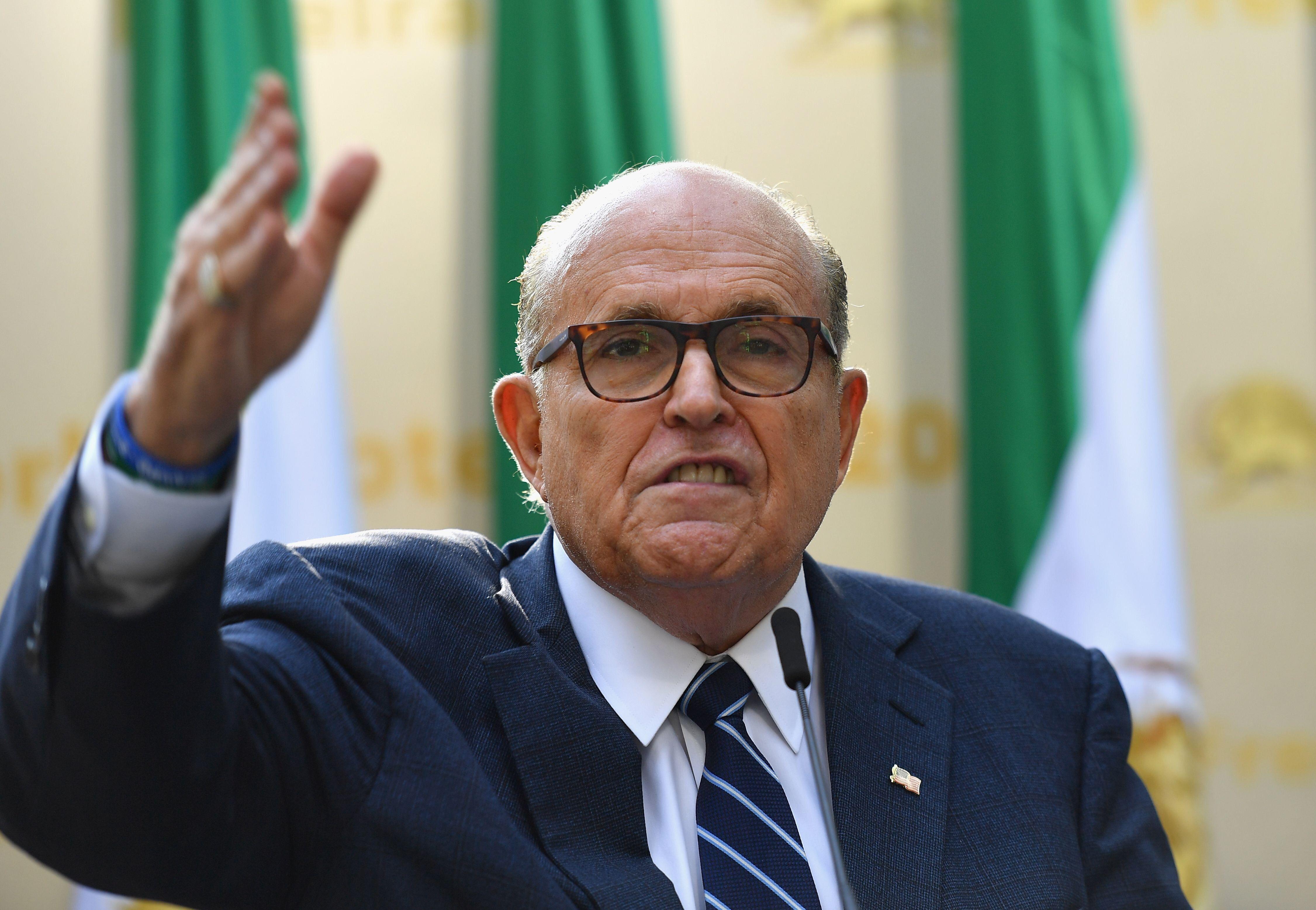 Giuliani Indicates He'll Report On Ukraine Trip This Week