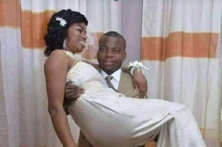 Just Photo See How Er*ction Embarrassed This Groom At His Wedding Ceremony