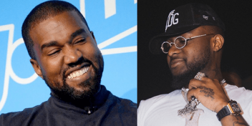 Kanye West And Church Choir Remix Davido's Popular Song, IF (Watch Video)