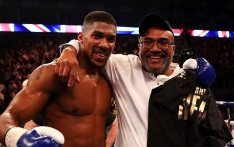 Meet Anthony Joshua's Father,Oluwafemi Who Helped Him Transit From A Criminal, Drug Addict To A Heavy Weight Champion