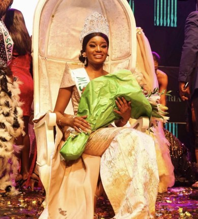 Miss Taraba Wins Miss Nigeria 2019 (Photos From The Event)