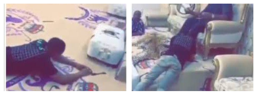 Moment Wizkid Prostrated Before Oba Saheed Elegushi Of Ikateland (Video)