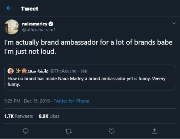 Naira Marley Reacts After A Fan Said No Brand Has Signed Him As Ambassador (See Photo)