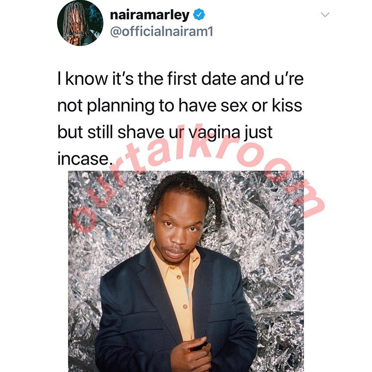 Naira Marley Tells Ladies What To Do When Going On A First Date