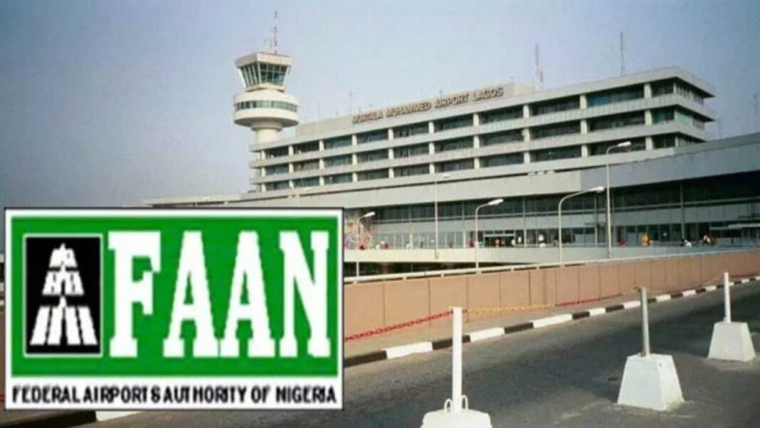 Nigeria news : Air Peace FAAN speaks on man caught trying to enter moving aircraft