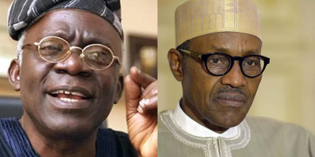 Nigeria news : Falana reveals minister behind Buhari's refusal to obey court orders