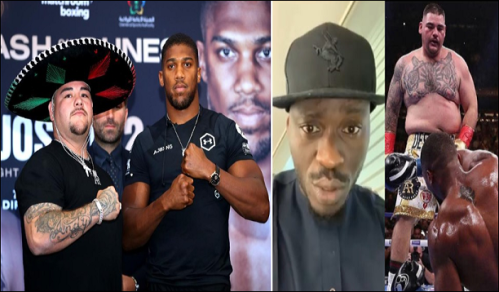 Nigerians Blasts Comedian, Mr. Jolof For Supporting Ruiz Over Anthony Joshua