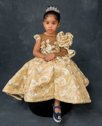 Nollywood Actress Anita Joseph Shares Photos Of Her Beautiful Daughter