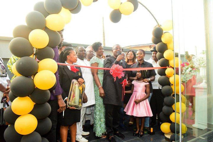 PHOTOS: Prince Odi Okojie Opens Five Star Luxury Hotel & Resort In Abule Egba
