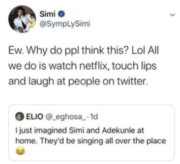 Singer, Singer Simi Reveals What Goes On In Her Marriage