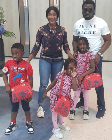 """They Are My World In Entirety"" – Mercy Johnson Says As She Steps Out With Her Family (Photos)"