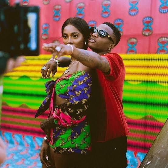 Tiwa Savage reacts as Wizkid says he has 10(Ten) girlfriends (video)