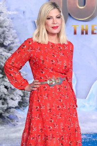 Tori Spelling Claps Back at Trolls Accusing Her of Using Her Kids for Money