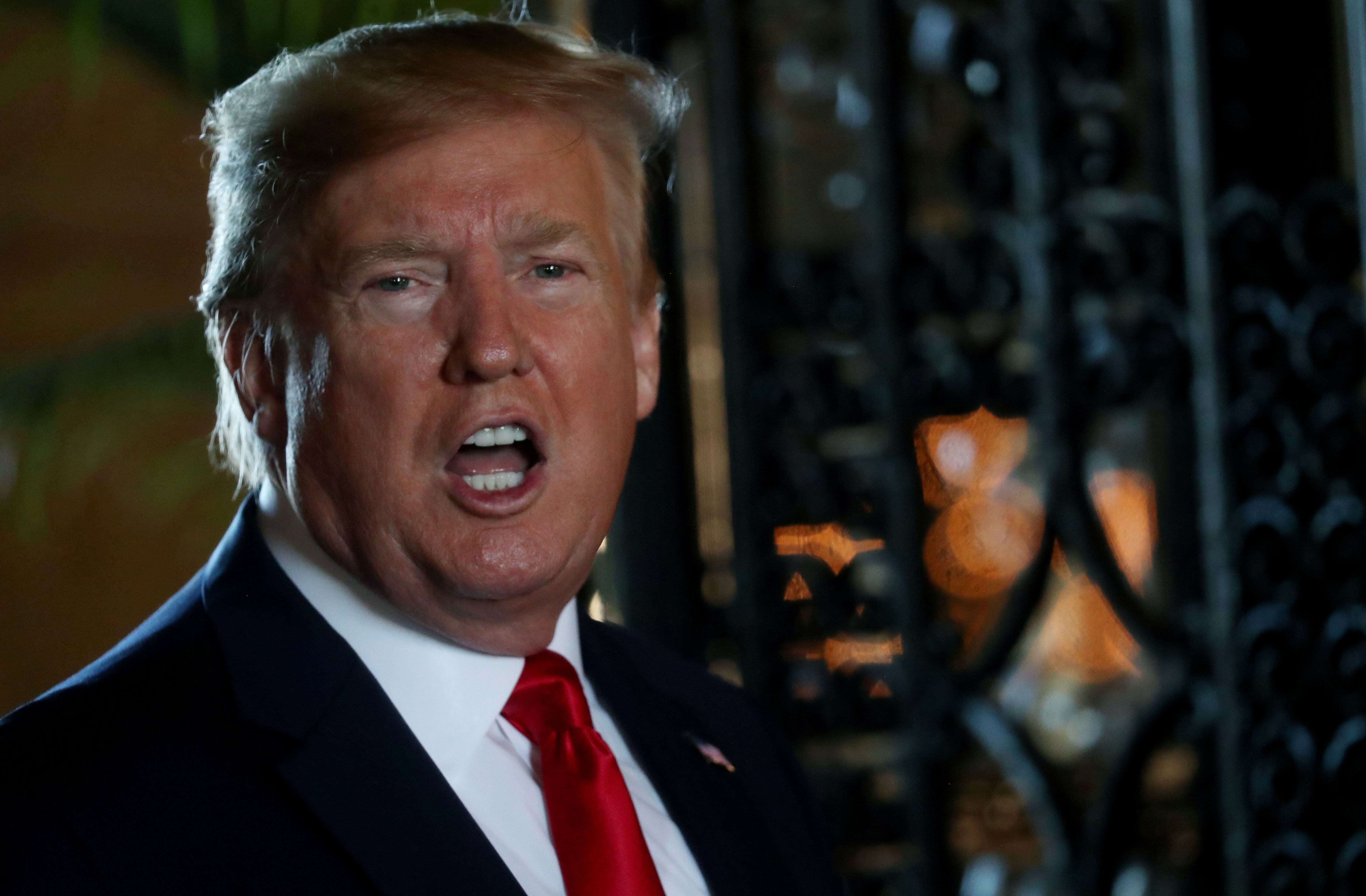 Trump Blasts 'Crazy' Pelosi After Calling For 'Respect' In His Christmas Message