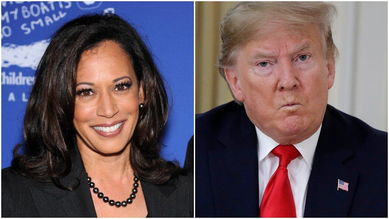 Trump Trolls Kamala Harris' Exit And Gets Hilariously Burned