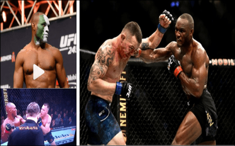 UFC Welterweight Champion: Nigeria's Usman Beats Colby Covington To Win His 11th Straight UFC Fight And Retain The Welterweight Title