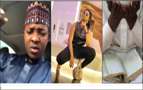 WAR!!! Actress Etinosa Reacts Angrily After A Muslim Man Dared Her To Quran As An Ashtray
