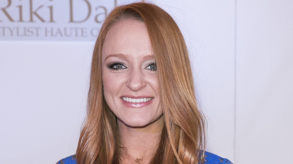 Where does Maci Bookout live and how big is her house?