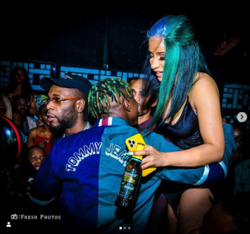 Zlatan Ibile Shares Pictures Of The Memorable Moment He Had With Cardi B