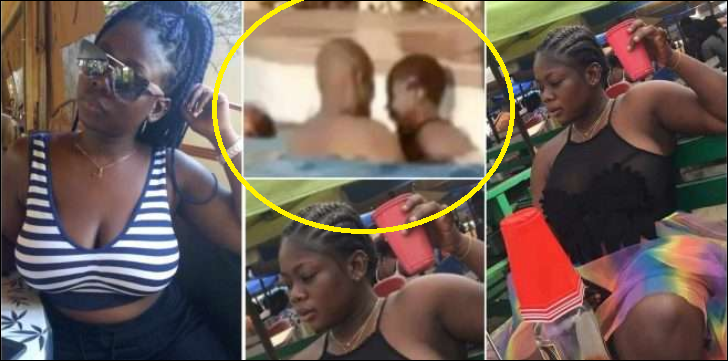 Video Of Another Slay Queen Ha.ving $3x In Swimming Pool Hits The Internet (watch video)
