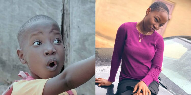 How Did Emmanuella Grow Up so Fast? – Nigerians React To Viral Photo Of Popular Comedienne's Lookalike