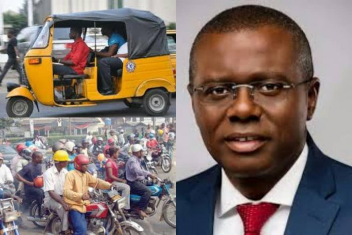 Breaking: Lagos State Government Bans Okada, Tricycle Riders