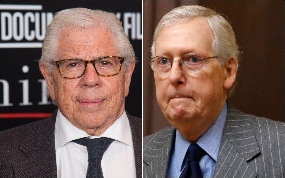 Carl Bernstein Hits Mitch McConnell With Scathing New Nickname That Explodes On Twitter ,lol