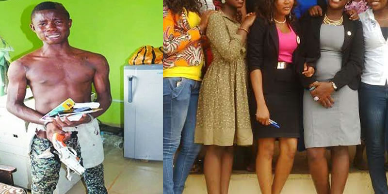 How 18 Year Old boy R.aped Seven University Female Students