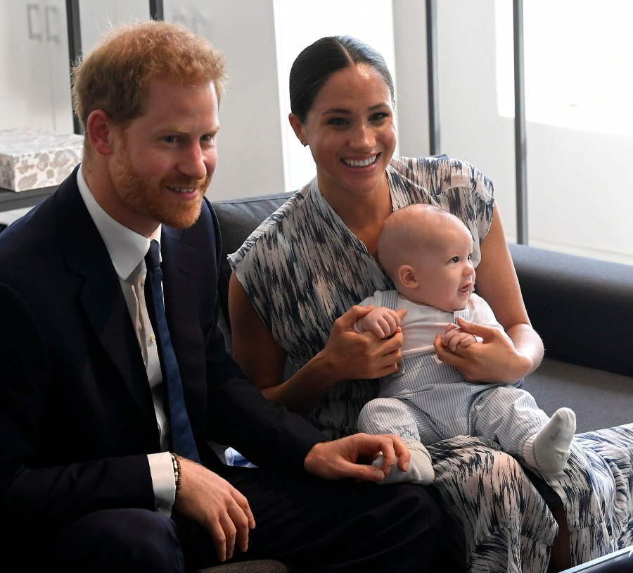 Duchess Meghan, Prince Harry Left Archie Behind in Canada Amid Royal Drama