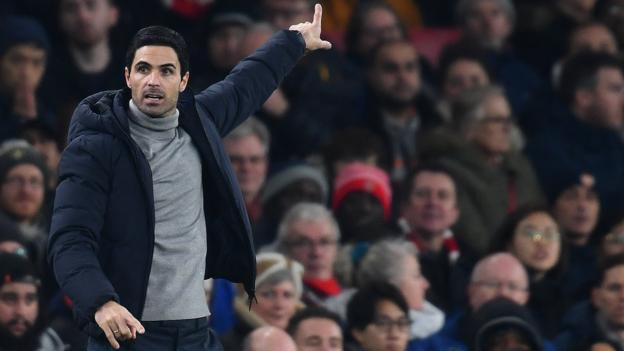 Football News : Arsenal boss Mikel Arteta 'not expecting big things' in transfer window