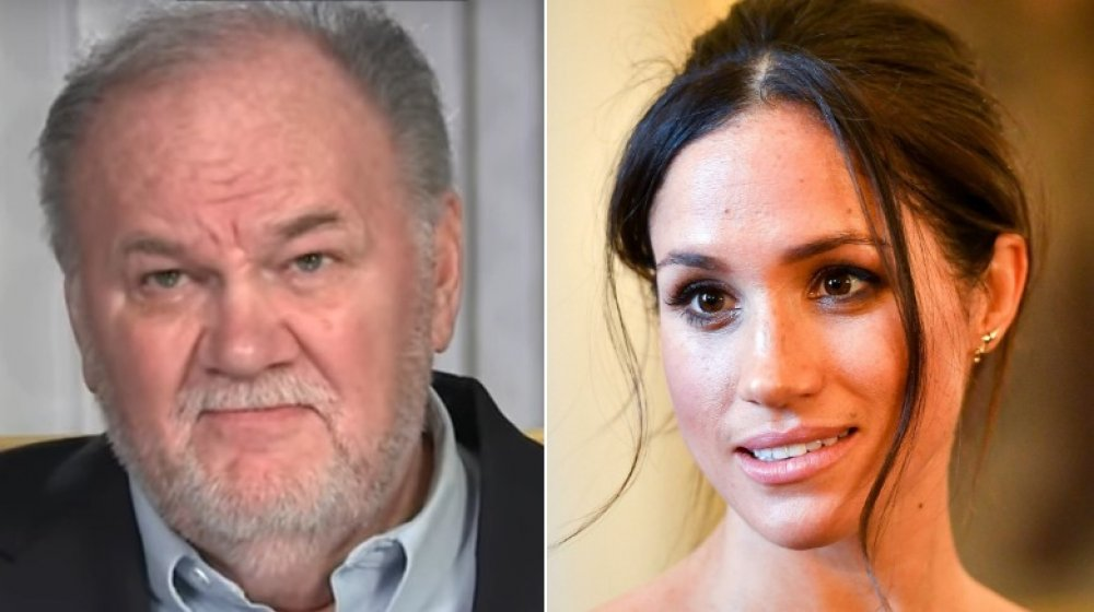 Meghan Markle's dad responds to her leaving the royal family