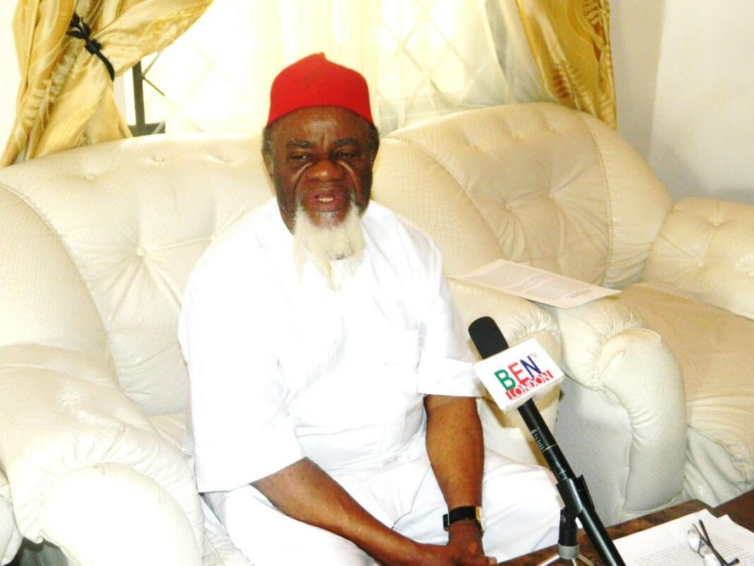 Nigeria news : Ezeife says God aware Nigeria is disintegrating, issues strong warning to Fulani against war