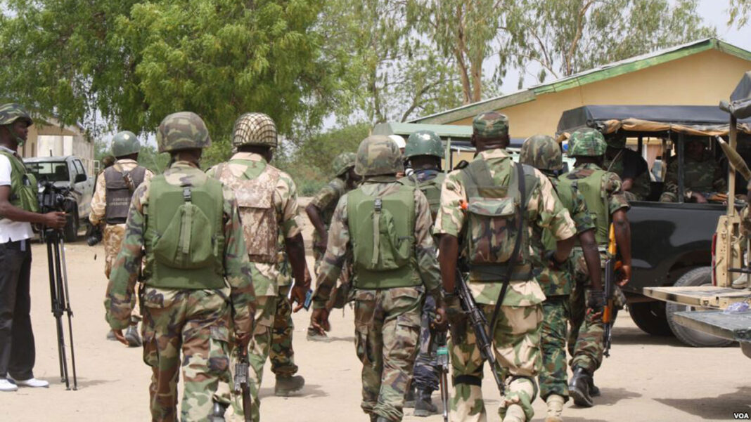 Nigeria news : Nigerian Army General advised officers and men of the Nigerian Army to remain disciplined