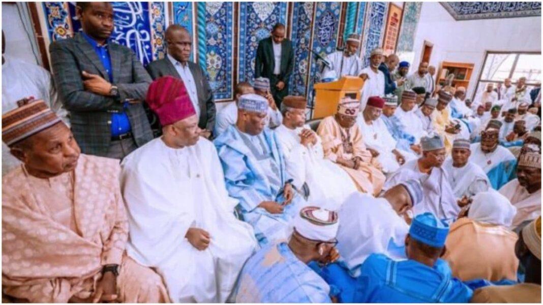 Nigeria news : Osinbajo, Atiku, Tinubu, Kyari, others meet