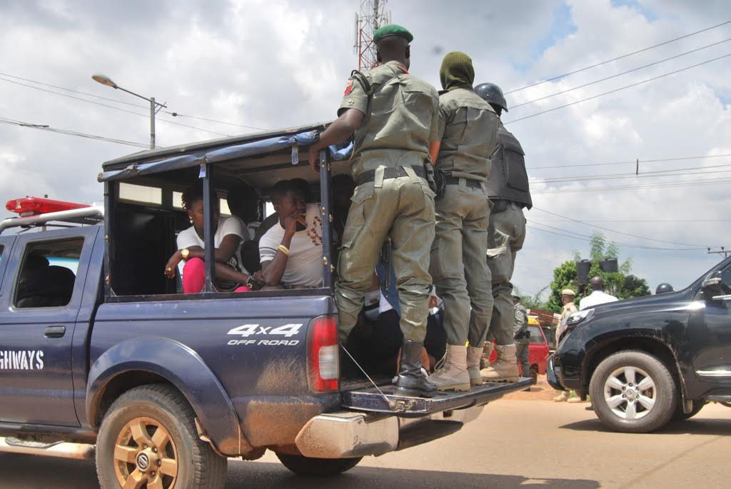 Nigeria news : Police confirm arrest of thugs who hijacked election materials in Essien Udim