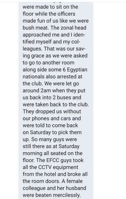 Nigerians slam EFCC over arrest of suspected yahoo boys at popular Ibadan nightclub lindaikejisblog 3