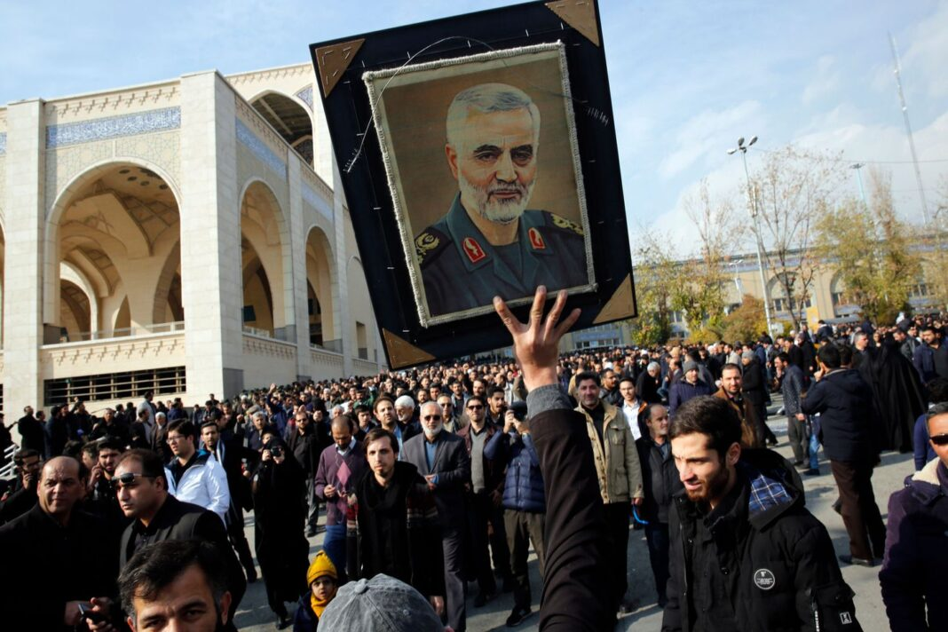 Oil prices spike, Dow dives after U.S. airstrike kills top Iranian military leader