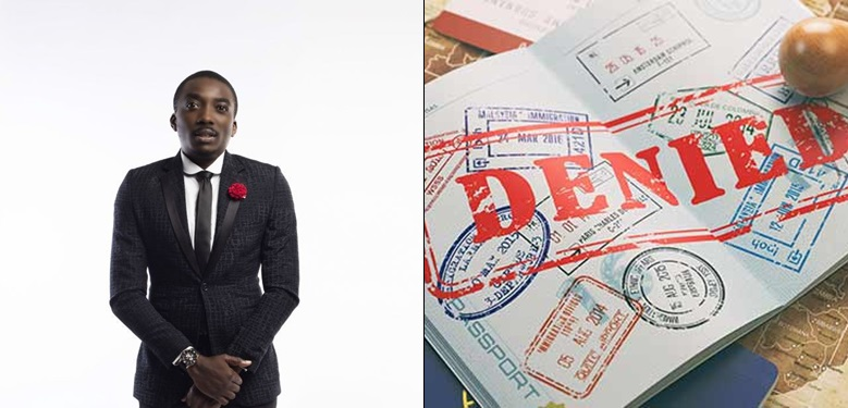 Titans Are Everywhere lol as Bovi Cries Out As His Visa Application was Rejected By US Embassy