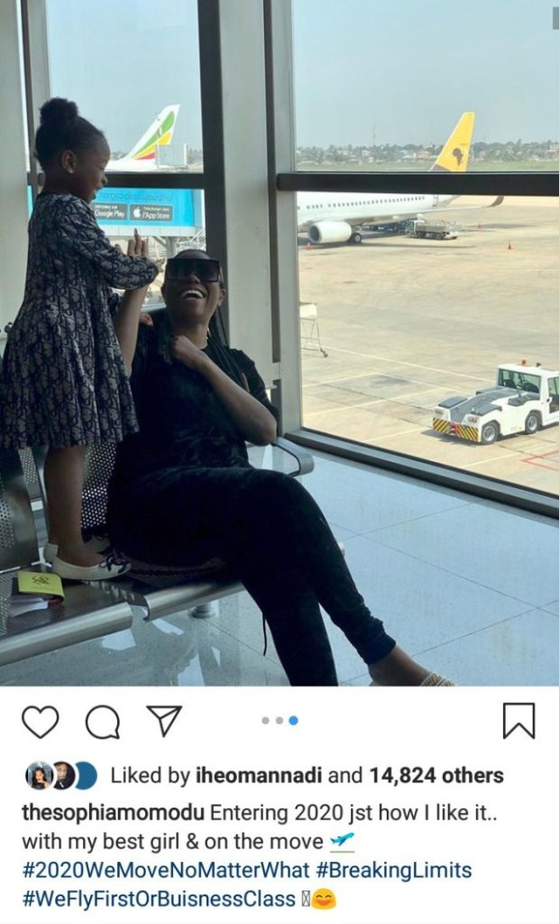 Davido's Baby Mama, Sophia Momodu Mocks Him For Saying He Gave Her A Lift To Ghana Beef Alert!!