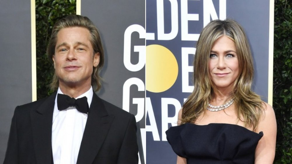 What really going on between Brad Pitt and Jennifer Aniston at the Golden Globes
