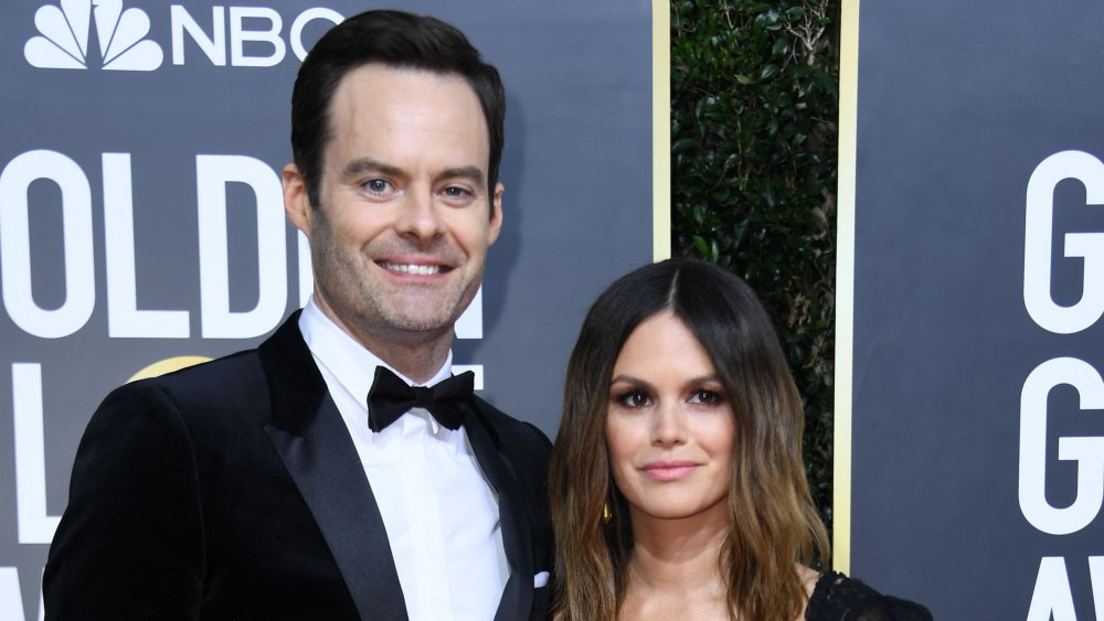 Why Bill Hader and Rachel Bilson transformed heads at the 2020 Golden Globes