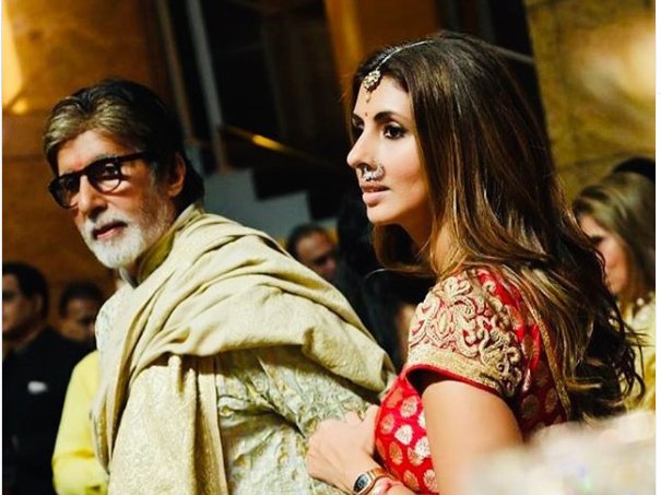 Wedding Diaries: Shweta's One Caption Form Dad Amitabh Bachchan Says It All