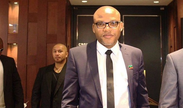 Nnamdi Kanu Said, I Wonder Why A Right-thinking Govt. Will Deploy Battalion To My Home Town