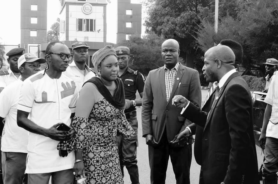 Activist Aduke Ajibola writes open letter to the governor of Ogun State Dr. Dapo Abiodun MFR after gathering elderly victims of house demolition outside the governor's office.