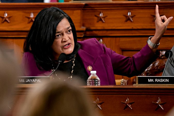 Progressive leaders like Rep. Pramila Jayapal (D-Wash.) voted yes on the bill after Pelosi incorporated some of their proposa