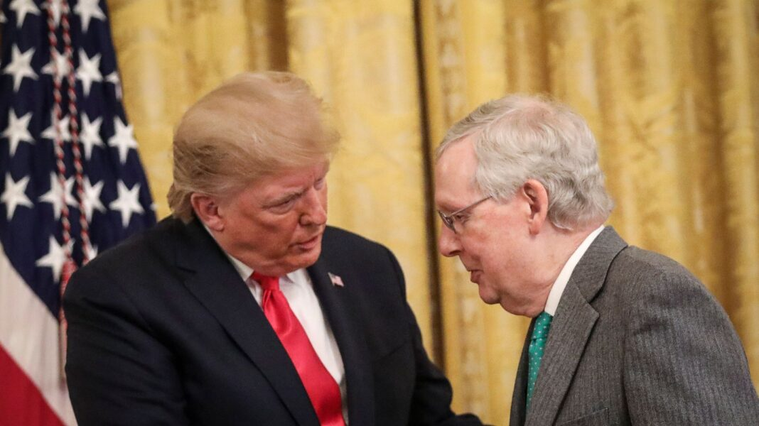 Polities Impeachment Trial Rigger For Donald Trump is Mitch McConnell's New Legacy