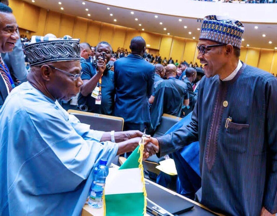 Nigeria news : Buhari, Obasanjo meet on Sunday [PHOTO]