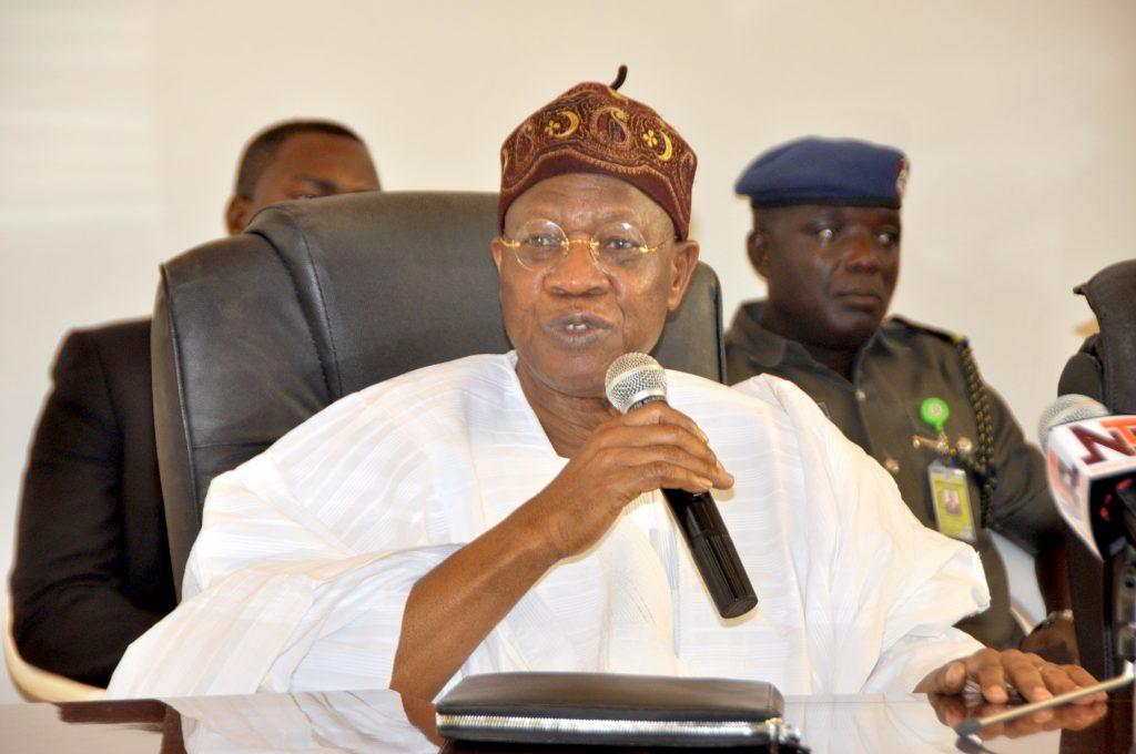 Nigeria news : Lai Mohammed condoles with Lawan, Okorocha over Senator Ignatius Longjan's death