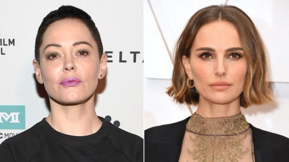 Rose McGowan slams Natalie Portman's 'offensive' Oscars dress
