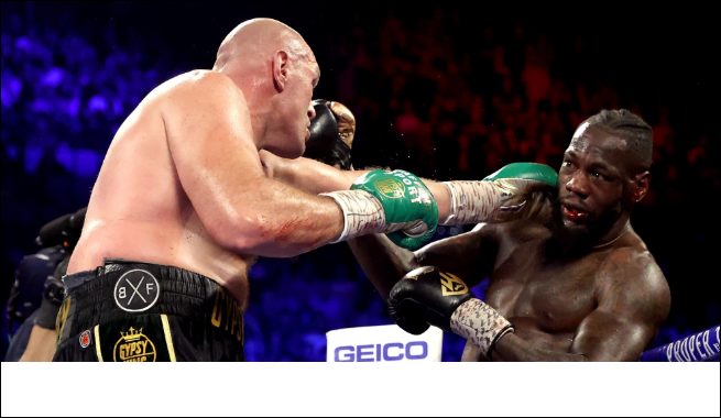 Nigerians Reacts As Tyson Fury Mercilessly Beat Deontay Wilder Who Mocked Anthony Joshua After His Fight With Andy Ruiz